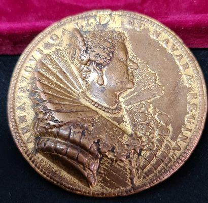 Guillaume Dupré . Médaille XVII ème siècle...