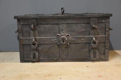 Coffre de Nuremberg XVIIIème. L'intérieur...