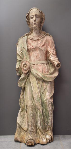 Importante sculpture vers 1700 représentant...
