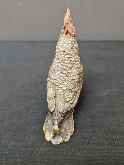 Bronze de Vienne. Cacatoès. Ht : 9 cm.