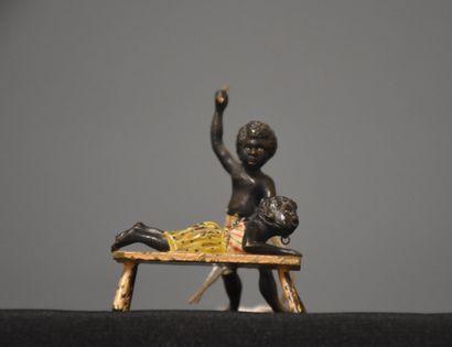 Bronze de Vienne, les enfants africains à...