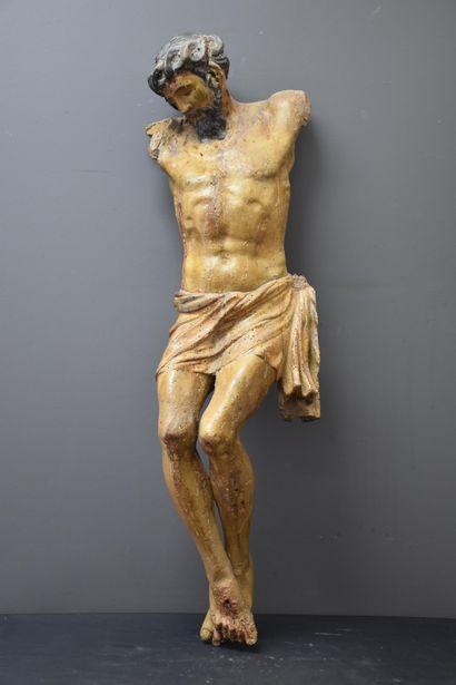 Christ en souffrance (sans les bras). Époque...