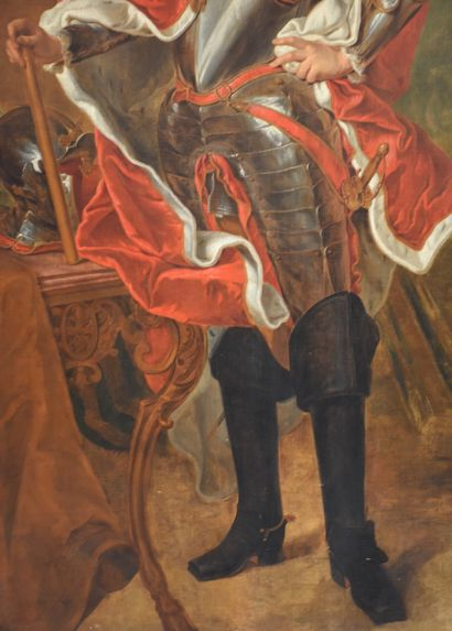 Portrait présumé du Prince François-Hugues-Emmanuel-Ignace, Prince de Nassau-Siegen....