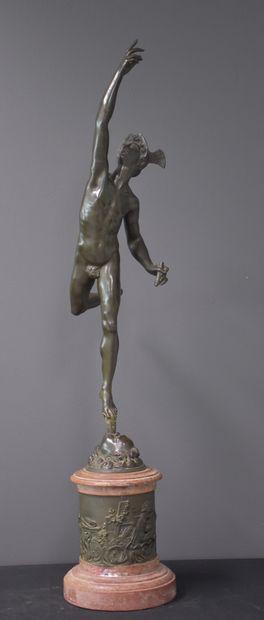 Jean de Bologne (d'après). Sculpture en bronze...