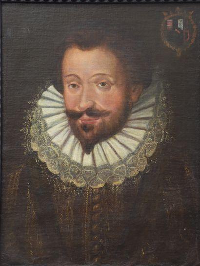 Antique portrait of Archduke Albert of Austria, ruler of the Spanish Netherlands....