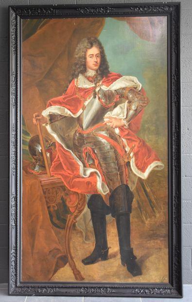 Portrait présumé du Prince François-Hugues-Emmanuel-Ignace,...