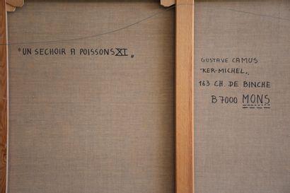 Gustave Camus (1914-1984), Gustave Camus (1914-1984) Le séchoir aux poissons IX....