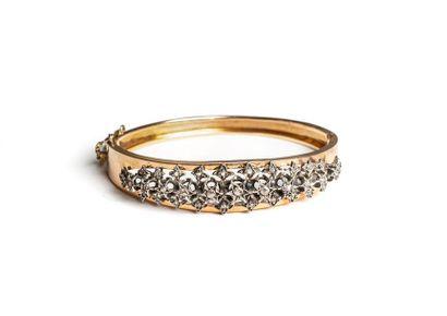 Bracelet jonc ouvrant, en or jaune 18 K (750...