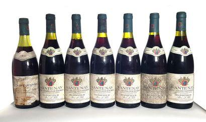 6 bouteilles Santenay 1er cru Grand Clos...
