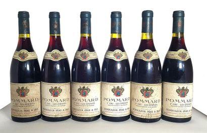 6 bouteilles Pommard 1er cru Les Épenots,...