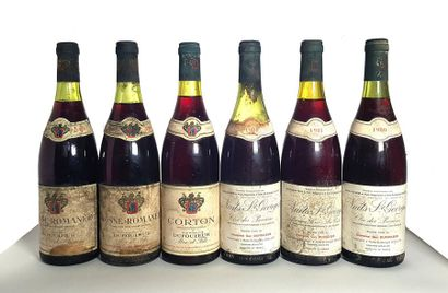 1 bouteille Corton Grand Cru, Maison Dufouleur...