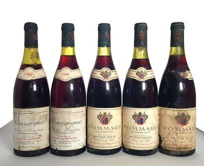 2 bouteilles Bourgogne rouge Clos de l'hermitage,...