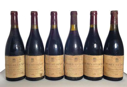 6 bouteilles Morey-Saint-Denis, Domaine des...