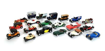 *MATCHBOX  Set of twenty miniature vehicles,...