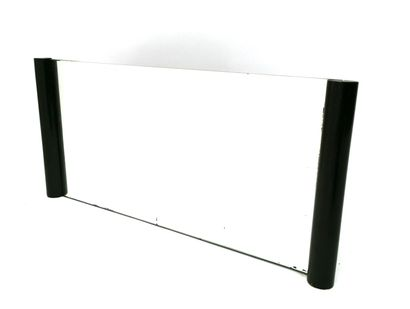 Art Deco mirror with cylindrical section...
