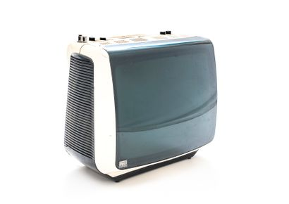ITT Océanic 60's CRT television with two...
