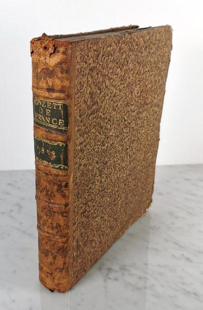 GAZETTE DE FRANCE, Imprimerie Royale 1780...