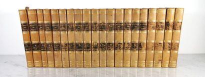BULLETIN DES LOIS, 20 tomes de 1789 à 1830...