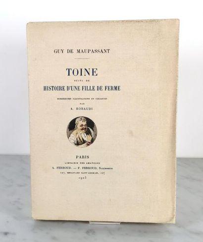 Guy de MAUPASSANT (1850-1893), Toine suivi...