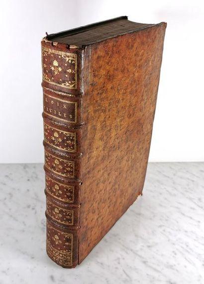 Jean DOMAT (1625-1696), Les Loix Civiles...