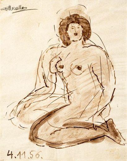 Fikret Saygi MOUALLA [turc] (1903-1967) Nu...