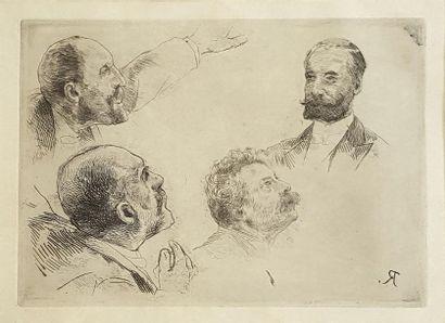 Alfred Philippe ROLL (1846-1919) Étude de...