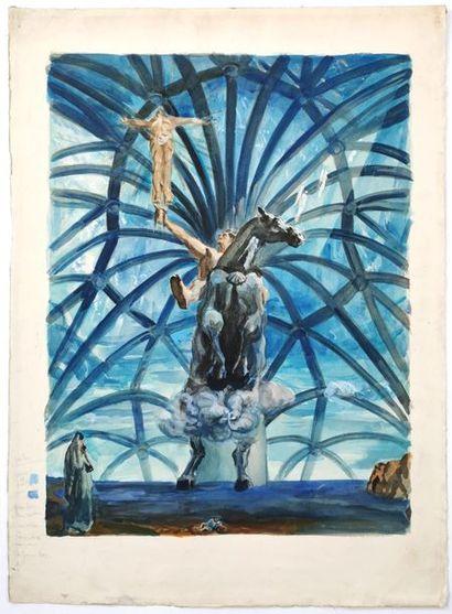 D'après Salvador DALI [espagnol] (1904-1989)...