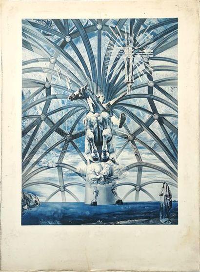 D'après Salvador DALI [espagnol] (1904-1989) SAINT JACQUES DE COMPOSTELLE 1958 [cf...
