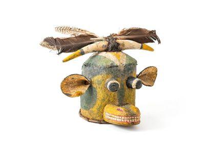 Masque cagoule HOPI (USA Arizona) Masque...