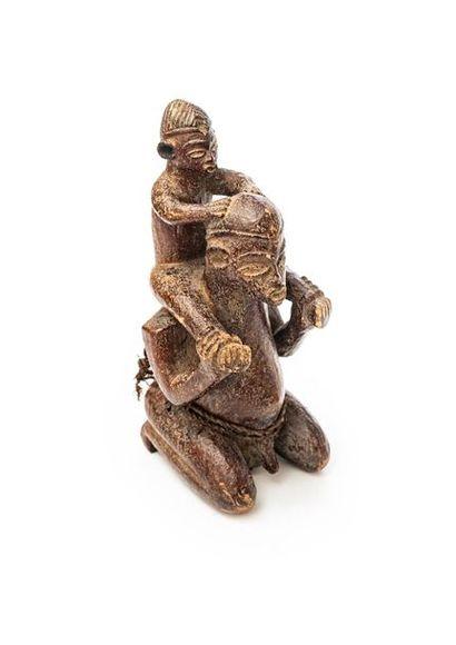 KUBA (République Démocratique du Congo) Statuette...