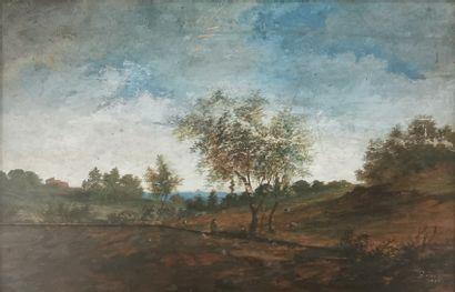 G. FORTI (École du XIXe siècle)  Pâtre et...