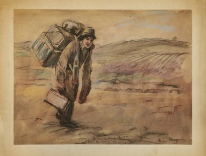 Pierre CHAPUIS (1863-1942)  La route longue...