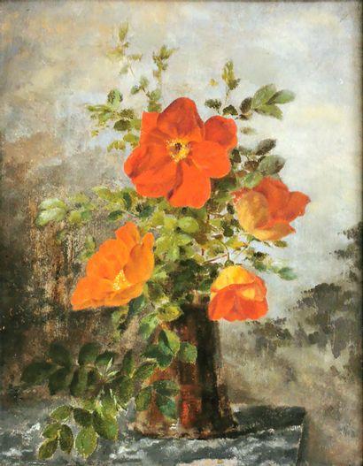École du début du XXe siècle  Bouquet de...