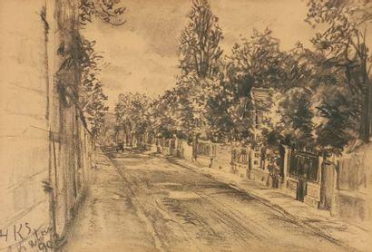 Henriette KOSMANN-SICHEL (1866-1926)  Rue...