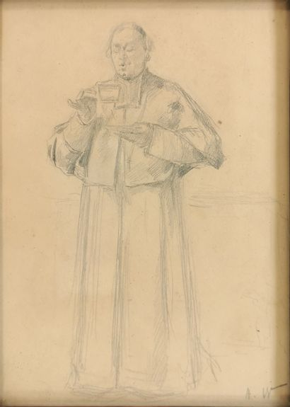Alfred-Charles WEBER (1862-1932)  Cardinal...