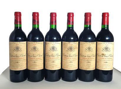 6 bouteilles Lalande de Pommerol, Château...