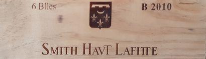 6 Bouteilles Château Smith Haut Lafitte Blanc,...