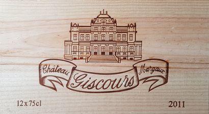 13 Bouteilles Château Giscours, GCC3 Margaux,...