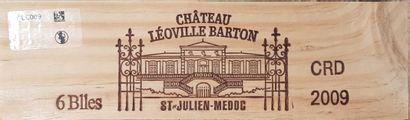 5 Bouteilles Château Léoville Barton, GCC2...