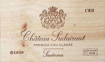 8 Bouteilles Château Suduiraut, C1 Sauternes,...