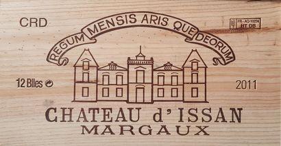 10 Bouteilles Château d'Issan, GCC3 Margaux,...