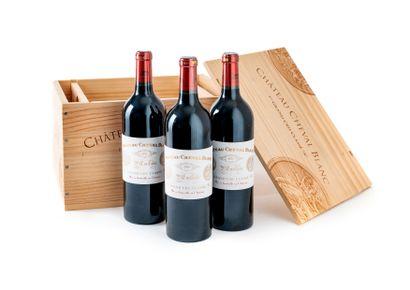 6 Bouteilles Château Cheval Blanc, GCC1A...
