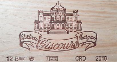 12 Bouteilles Château Giscours, GCC3 Margaux,...