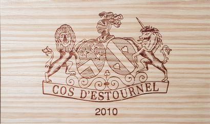 10 Bouteilles Cos d'Estournel, GCC2 Saint-Estèphe,...