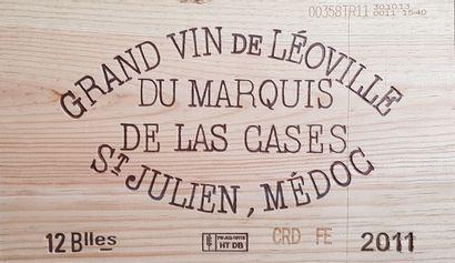 13 Bouteilles Château Léoville Las Cases,...
