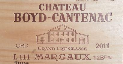 12 Bouteilles Château Boyd-Cantenac, GCC3...