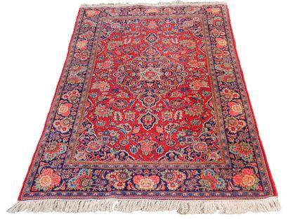 Fin et ancien tapis Kachan Kork – Iran, vers...