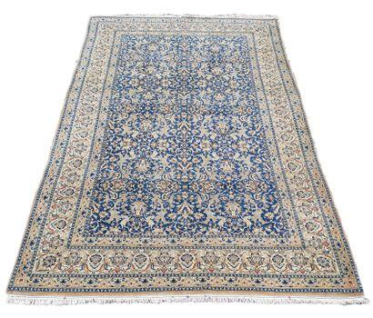 Grand et fin tapis Nain Chicla – Iran, époque...