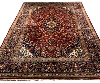 Grand et assez fin Tapis Kachan – Iran, vers...