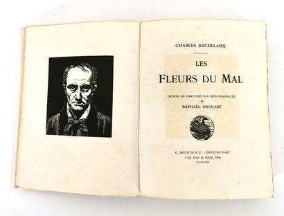 Charles BAUDELAIRE - LES FLEURS DU MAL, with...